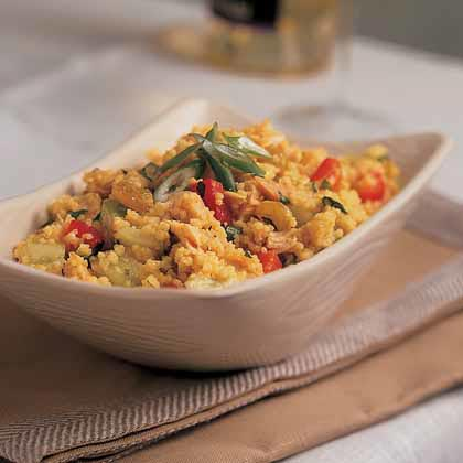 North African Chicken and Couscous
