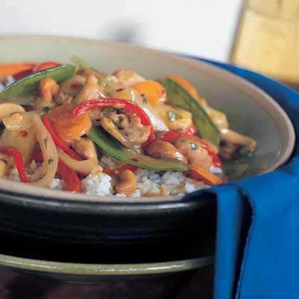 Chicken-Cashew Stir-Fry Recipe