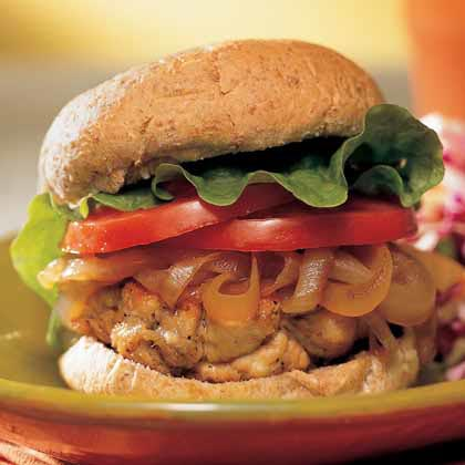 Quick-and-Easy Turkey BurgersRecipe