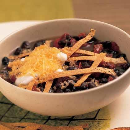 Chipotle-Black Bean Soup
