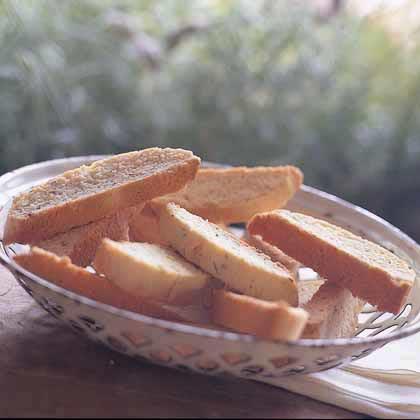 Biscotti with Lavender and Orange Recipe