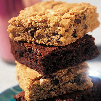 Peanut Butter-Chocolate Chip Brownies Recipe