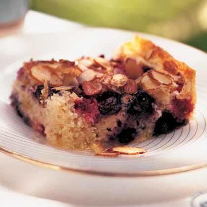 Blueberry-Almond Coffeecake