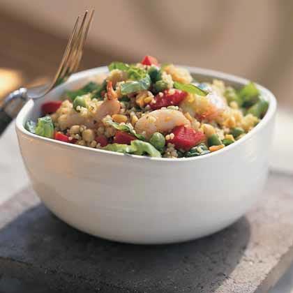 Sesame Shrimp-and-Couscous Salad