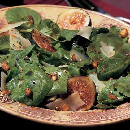 Fig-and-Arugula Salad with Parmesan Recipe
