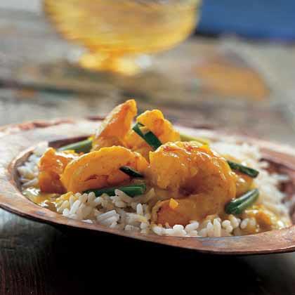 Garlic Shrimp in Yogurt Sauce Recipe
