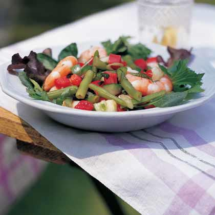 Gazpacho Shrimp Salad