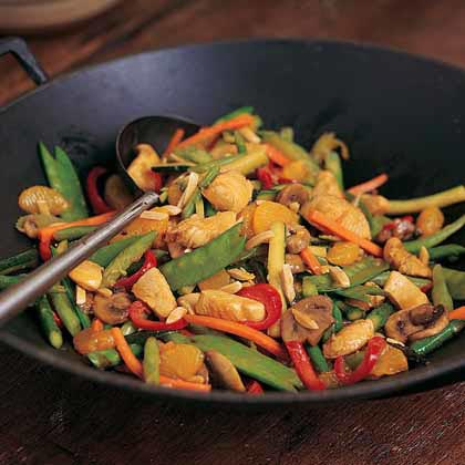 Chicken-Orange Stir-FryRecipe