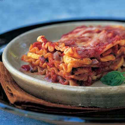 Grilled Summer Vegetable Lasagna Recipe