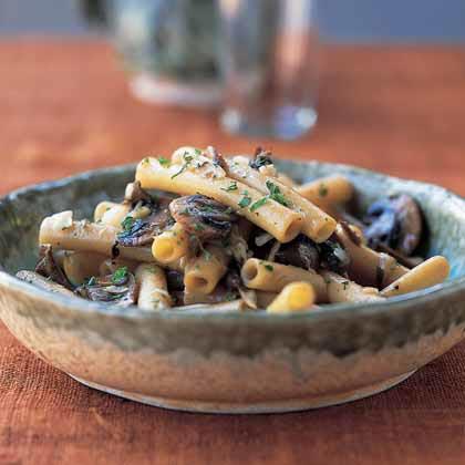 Ziti with Tuscan Porcini Mushroom SauceRecipe