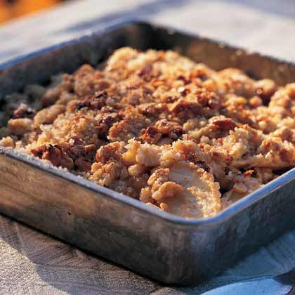 Maple Walnut Apple Crisp Recipe Myrecipes