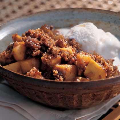 Spicy Autumn Crisp Recipe