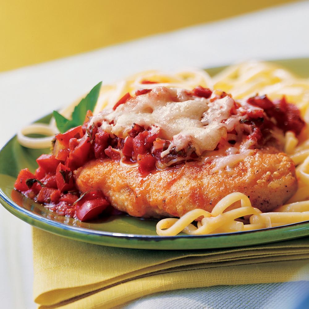 Champion Chicken Parmesan Recipe Myrecipes