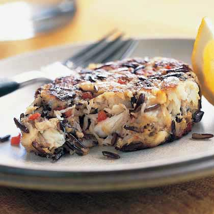 Wild Rice Crab Cakes Recipe