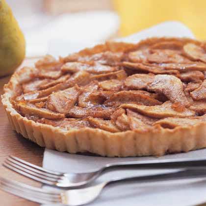 Gingered Pear Tart