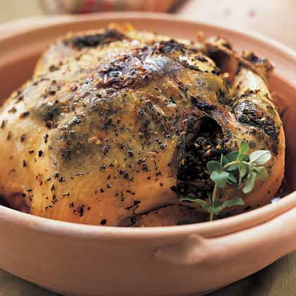 Lemon-Herb Roasted Chicken