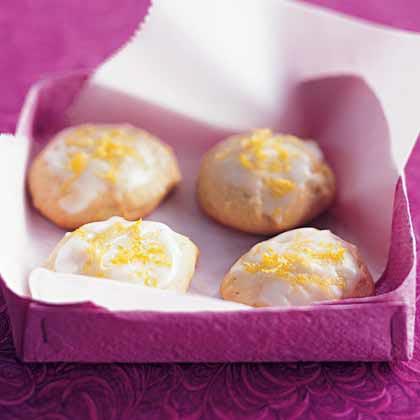Lemon-Honey Drop Cookies