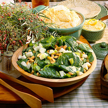 Apple-Spinach Salad Recipe