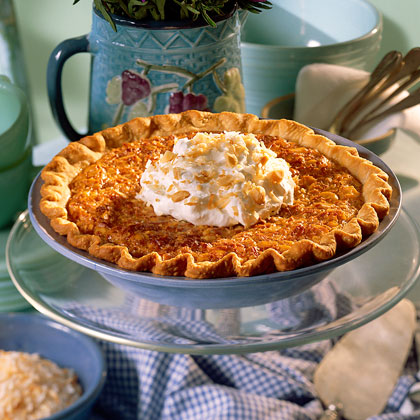 Coconut-Macadamia Nut Pie Recipe