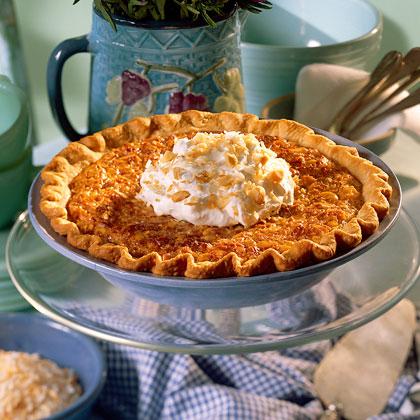 Coconut-Macadamia Nut Pie
