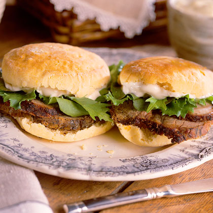 Lamb Sandwiches