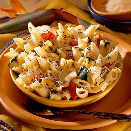 Grilled Vegetable Pasta