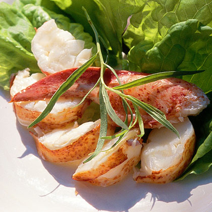 Lobster Salad with Tarragon Vinaigrette