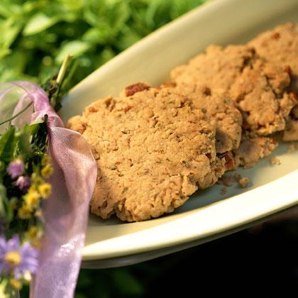 Basil-Pecan Sandies Recipe