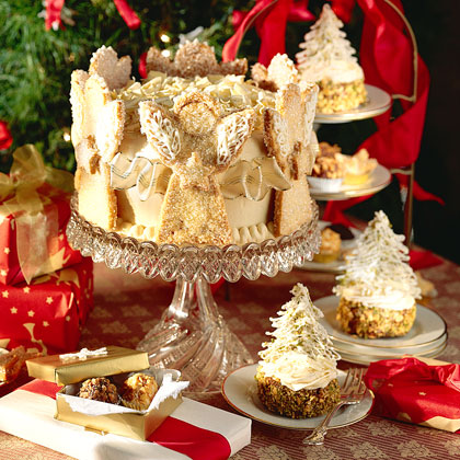 Chocolate Truffle Angel Cake