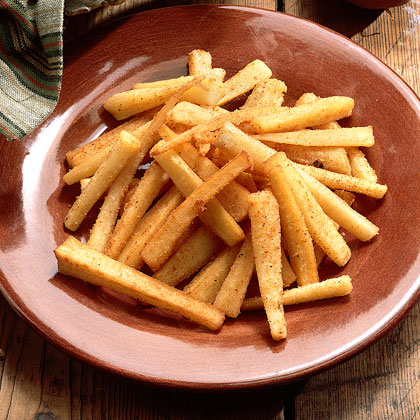 Parsnips, along with carrots, turnips, beans, onions, and squash were grown in the gardens of most pioneer families, and the most common way to cook these veggies was frying. These fried parsnips are like the pioneer version of French fries.Recipe: Fried Parsnips