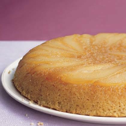 Maple-Pear Upside-Down Cake