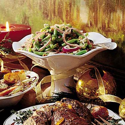 Green Bean, Walnut, and Feta Salad Recipe