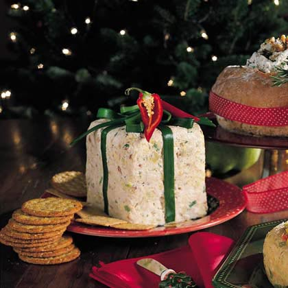 Buttery Blue Cheese Spread with Walnuts