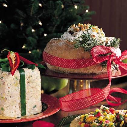 Chicken-Artichoke-Cheese Spread Gift Box Recipe