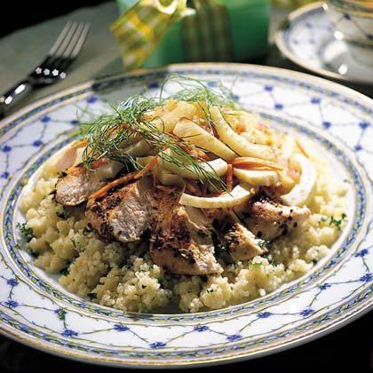 Chicken with Fennel Recipe