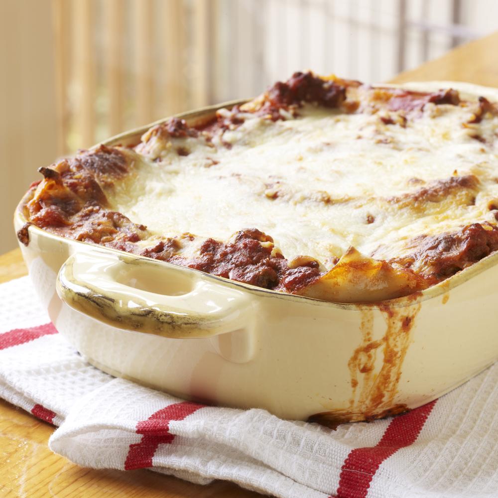 <p>Extra-Easy Lasagna</p>