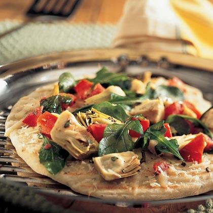 Grilled Salad PizzaRecipe