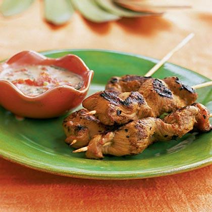 Boka Dushi (Dutch West Indian Chicken Kebabs)