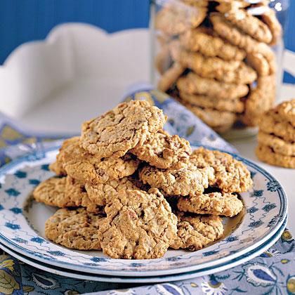 Nutty Oatmeal-Chocolate Chunk Cookies Recipe | MyRecipes