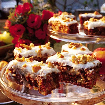 Chunky Apple Cake with Cream Cheese Frosting