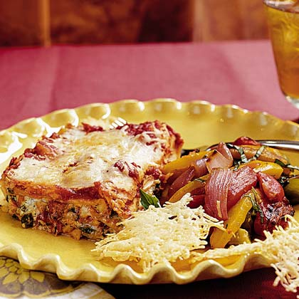 Roasted Tomato-and-Pepper Salad Recipe