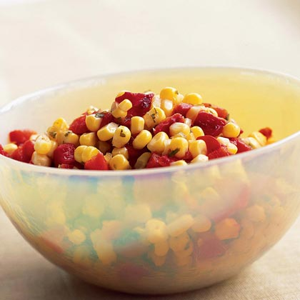 Roasted Red Pepper-and-Corn Salsa
