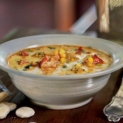 Lobster Chowder Recipe | MyRecipes
