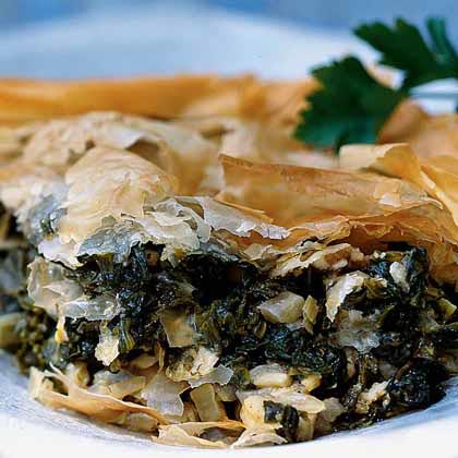 Greens-and-Cheese Pie (Hortopita)