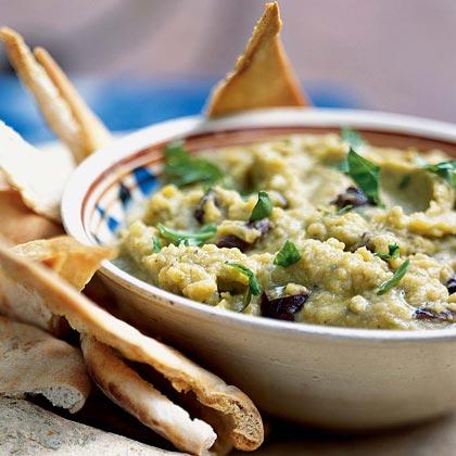 Split Pea-Garlic Dip (Skordalia) Recipe