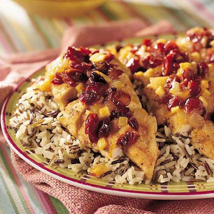 Fruity Baked ChickenRecipe