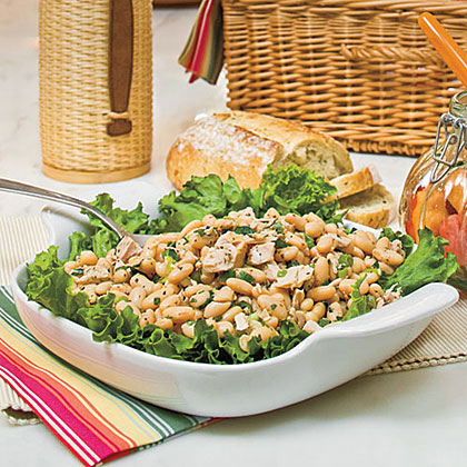 ... pita with this refreshing salad for a new way to enjoy tuna and beans