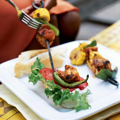 Cajun-Spiced Catfish Kebabs