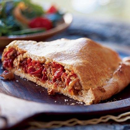 Empanada Gallega (Galician Pork and Pepper Pie)