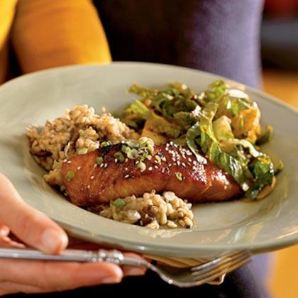Bourbon-Glazed Salmon Recipe